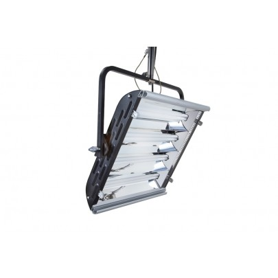 (Photo - Reference only - Includes Yoke Mount, built-in Parabolic Reflector, removable Gel Frame and 90° Honeycomb Louver)