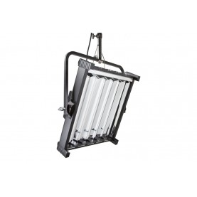 (Photo - Reference only - Includes Yoke Mount, built-in Reflector, removable Gel Frame and 90° Honeycomb Louver)